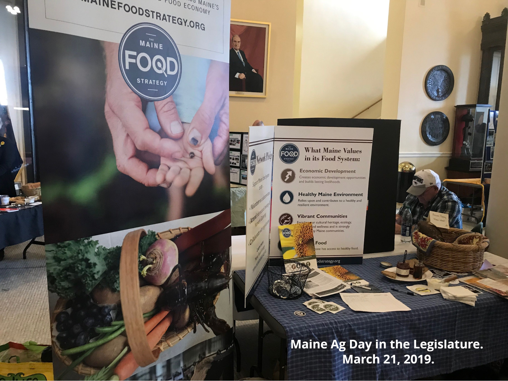 Maine Ag Day in the Legislature