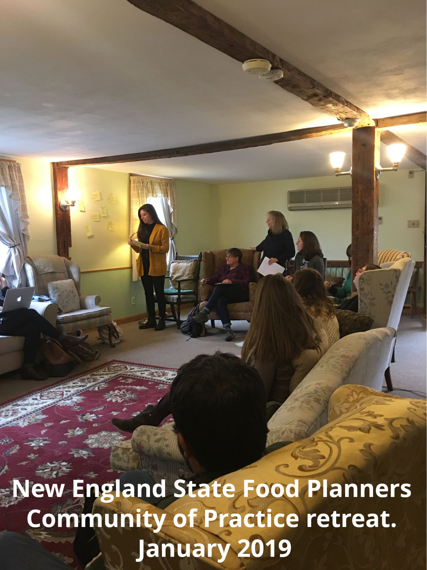 New England State Food Planners Community of Practice retreat